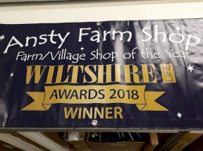 Ansty Farm Shop Banner
