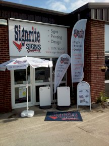 Signrite Displays and Banners