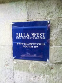 Bella West Photography Signs