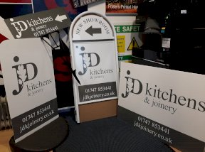JD Kitchens Various Signs
