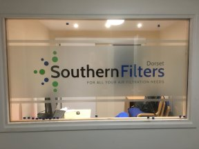 Southern Filters Window Sign