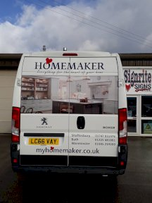 Homemaker Van Graphics