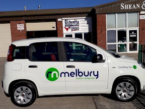 Melbury Motors Courtesy Car