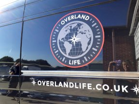 OverlandLife Sign Painted Van